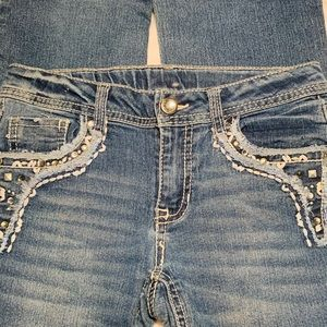 Faded Glory Girls Jeans Size 10